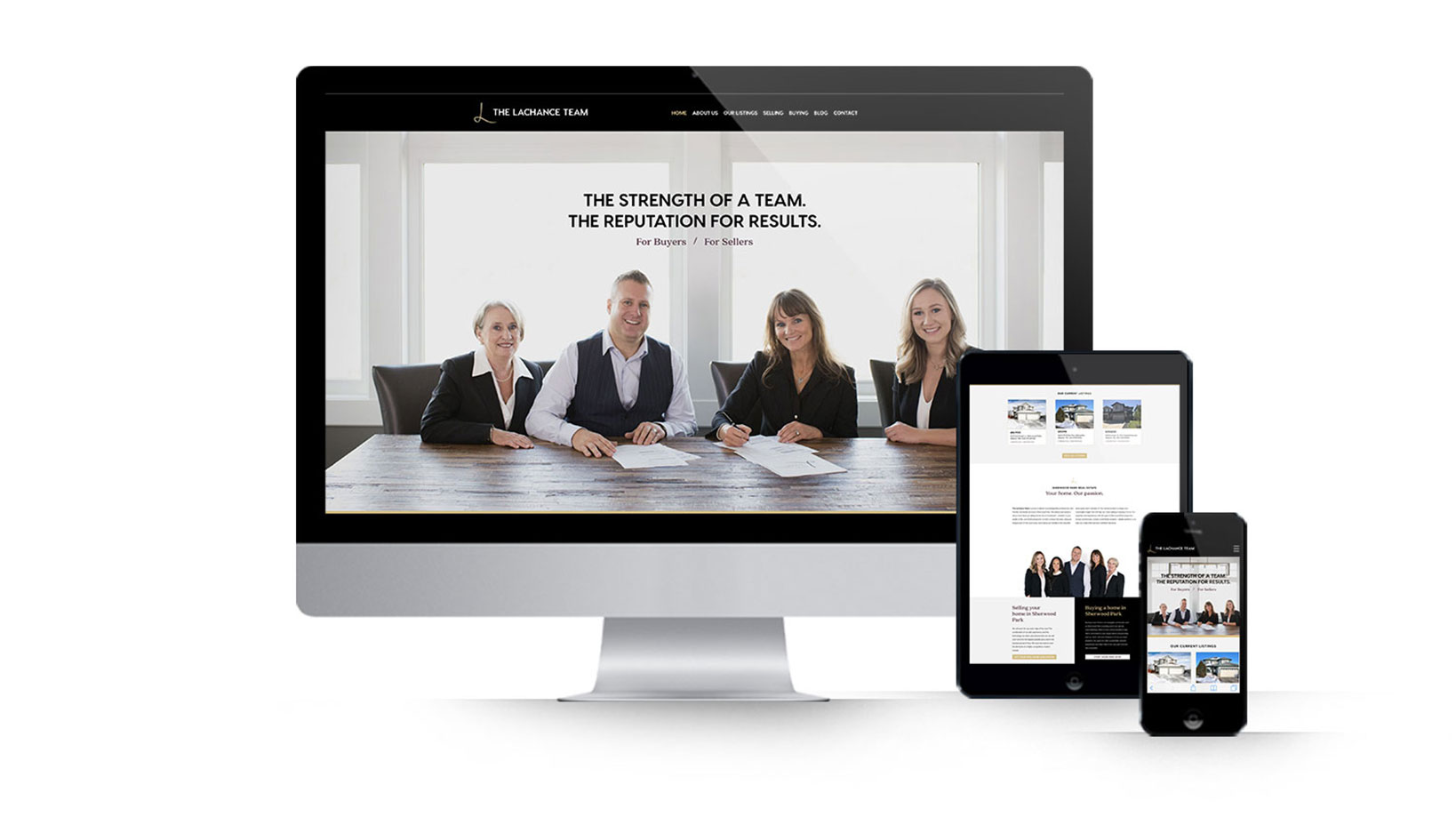 The Lachance Team Realtor Website Design